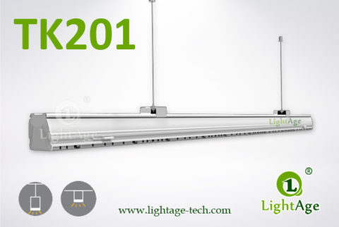 2ft 4ft 5ft LED Linear Light 24W 40W 60W 130lmW Ra80 LightAge 2