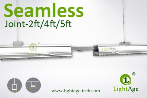 2ft 4ft 5ft Seamless LED Linear Light