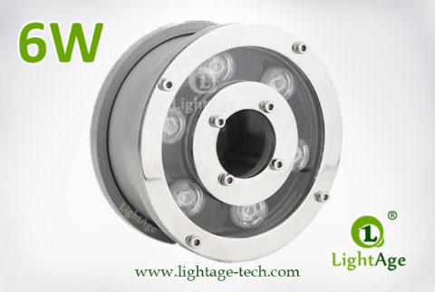 6W LED Fountain Light LightAge LA-PU12-6W 01