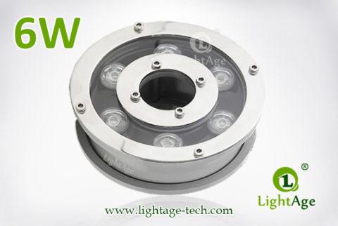 6W LED Fountain Light LightAge LA-PU12-6W 02