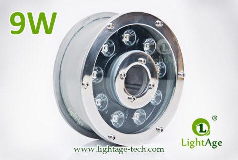9W LED Fountain Light LightAge LA-PU12-9W 01