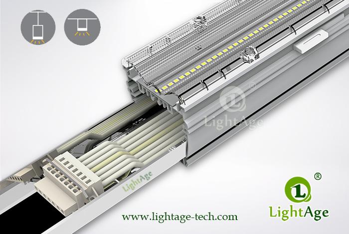 2ft 4ft 5ft 130lm W 0 10v Dimmable Led Linear Light Lightage 174
