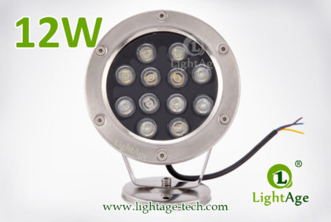 LightAge LA-PU02-12W LED Pool Light 12W 02