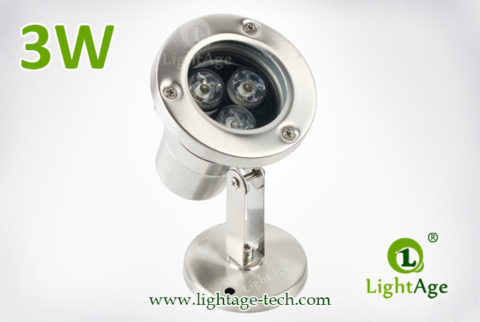 LightAge LA-PU02-3W LED Pool Light 3W 05