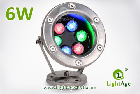 LightAge LA-PU02-6W LED Pool Light 6W 06