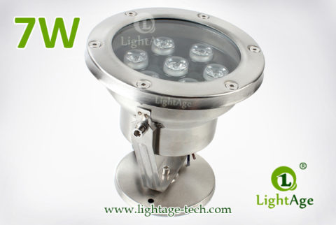 LightAge LA-PU02-7W LED Pool Light 7W 03