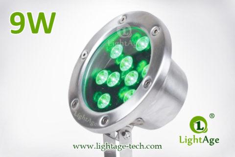 LightAge LA-PU02-9W LED Pool Light 9W 02