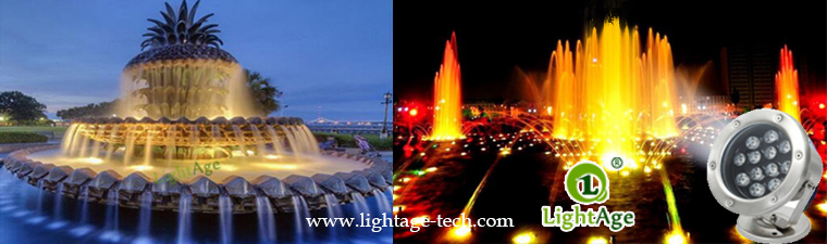LightAge LA-PU02 LED Pool Light Series Data 3W~36W Underwater light application 12W