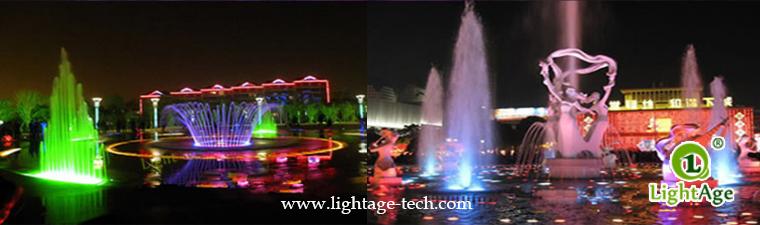 LightAge LA-PU02 LED Pool Light Series Data 3W~36W Underwater light application 24W