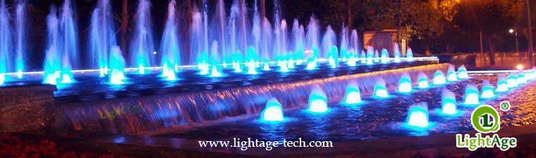 LightAge LA-PU02 LED Pool Light Series Data 3W~36W Underwater light application 7W