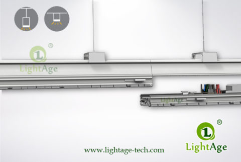LightAge Seamless 24W 40W 60W LED Linear Track System