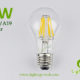 5W A60-A19 led filament bulb Clear