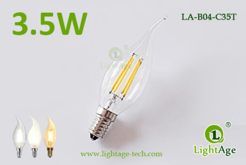 LED Filament Tailed Candle-3