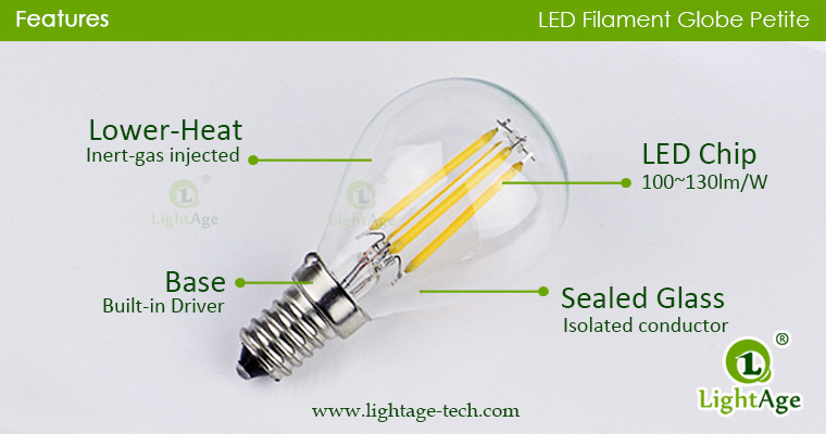 g45p-globe-led-4w features