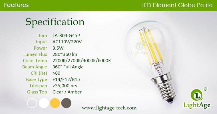 g45p-globe-led-4w specification