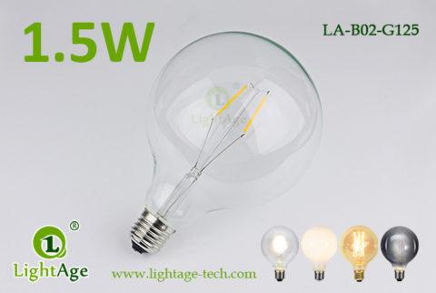 1.5w G125 LED Globe