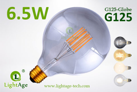 G125 filament LED8w gray