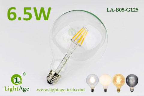 G125 filament LED8w clear