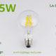 6.5W G80 filament LED