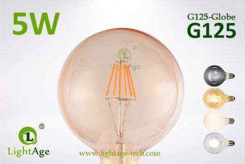G125 LED Bulb amber 5w