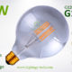 G125 LED Bulb smoked 5w