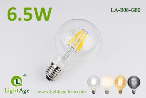 G80 filament LED 6.5W