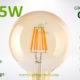 G95 filament LED amber