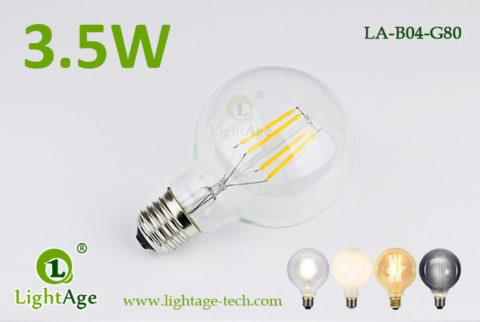 LED Globe G80 3.5W